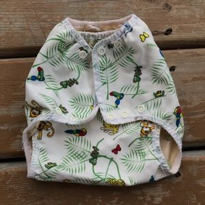 5/$25 - Mother Ease Air Flow Cloth Diaper Cover - Size Med/Lg